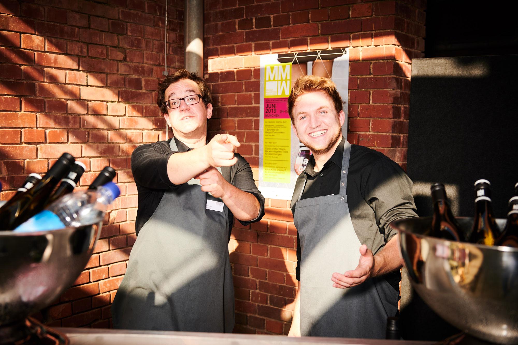 ziegelei101 Innenhof impression catering event bar