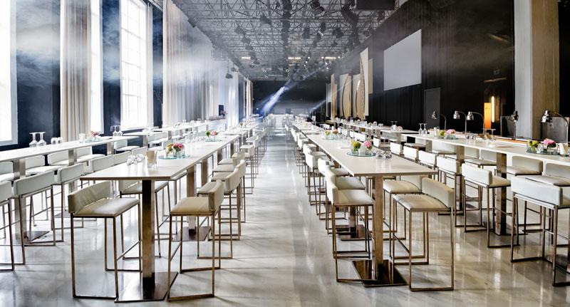 ziegelei101 Loft 7 Reihenbestuhlung Bankett event Meeting Präsentation Bühne